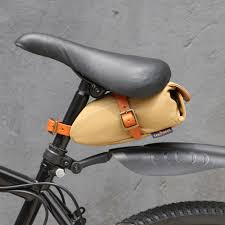 <b>Tourbon Vintage</b> Portable <b>Bicycle Bike</b> Seat Tail Saddle <b>Bag</b> Khaki ...