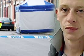 James Allen and police on Leven Street where Colin Dunford was killed. Cleveland Police and North Yorkshire Police are urgently seeking the whereabouts of a ... - featured-james-allen-241766575-3609943