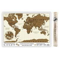 «Стирательная <b>скретч карта Мира</b>» — Товары для дома ...