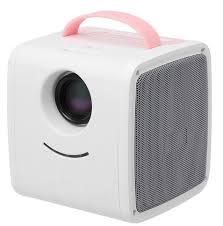 Портативный <b>проектор Zodikam</b> Zkids Rose, светло-розовый ...