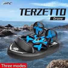 <b>JJRC</b> H36F <b>H36 3</b> in <b>1</b> mini Drone Boat Car <b>Water Ground Air</b> Mode ...