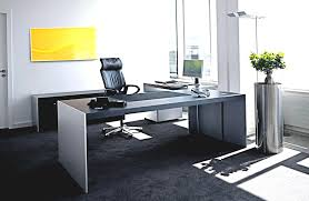 enticing hi tech in interior design with gray white wooden rectangle office desk on the black home alcove contemporary home office