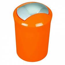 Ведро <b>Spirella Sydney</b>-<b>Acrylic</b> 5л, цвет оранжевый - купить в ...