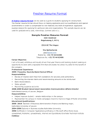 resume templates 5 simple sample format for students servey 93 outstanding sample resume formats templates