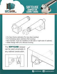 Cabinet Shock Absorber Sale 10 Pack Softclose For Cabinet Doors Compact Metal Soft
