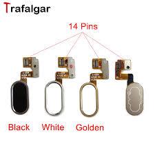 meizu m3 note button fingerprint flex cable ribbon replacement parts l681h home identification sensor