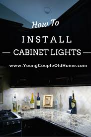 easy install under cabinet lighting. how to install yourself both under u0026 over cabinet lighting save those holiday lights easy t