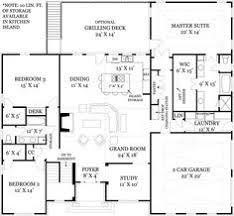ideas about Open Floor Plans on Pinterest   Open Floor  Hud    I like the foyer study open concept for my office craft area  great room and kitchen portion of this floor plan and how the stairs are out of the way   but