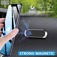 LISM <b>Magnetic Car Phone</b> Holder Dashboard Mini Strip Shape ...
