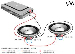 speaker wiring diagram dual voice coil images dual voice coil wiring diagram for dual 4 ohm voice coil website