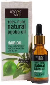 Organic Shop <b>100</b>% <b>Натуральное масло жожоба</b> для волос ...