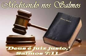 Resultado de imagem para O Julgamento dos Justos de Deus