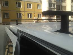 <b>Поперечины на крышку</b> — Renault Trafic, 2.0 л., 2012 года на ...