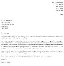 cover letter the great    cover letter sample for job application