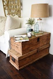 rustic style living room clever: now where oh where can i find two old trunks like that