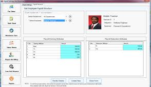 employee payroll functions payslip loans advances it provides interfaces to list down all salary heads we have used the term salary attributes instead of salary heads and then create salary structure of