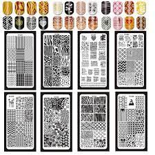 1pc XYZ(1 <b>32</b>) <b>Nail Stamping</b> Plates Rectangle <b>6*12CM Nail Art</b> ...