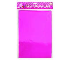<b>Fancy Creative Набор</b> цветной фольгированной бумаги A4 6 цв. 6 л