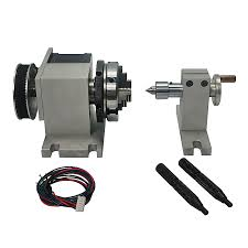 CNC Rotary Axis Kit <b>Chuck 65mm Activity Tailstock</b> 4th Axis 54mm ...