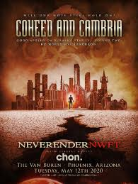 Cancelled - <b>Coheed and Cambria</b> - Neverender: NWFT w/ Special ...