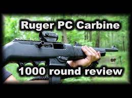 Ruger <b>PC</b> Carbine 1000 rounds later problems review - YouTube