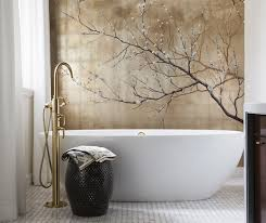 window shades bathroom contemporary asian influences