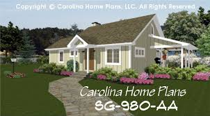 Small Contemporary Cottage House Plan SG  Sq Ft   Affordable    Small Contemporary Cottage House Plan Br  Baths  Story