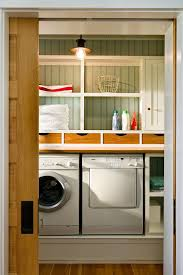 top load vs front load washing machine for a beach style laundry room with a pendant beach style laundry room