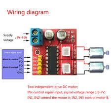 <b>5PCS</b> 1.5A Mini <b>Dual Channel</b> DC Motor Driver Module <b>L298N</b> ...