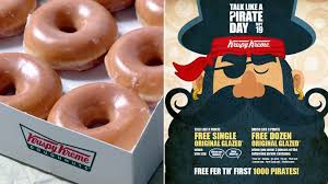 Krispy Kreme offers free doughnuts on