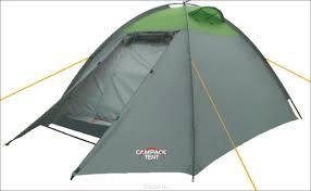 <b>Палатка Campack Tent</b> Rock Explorer 2, цвет: серо-зеленый ...