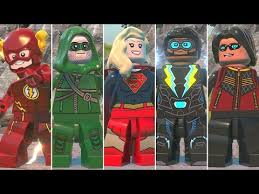 All DC <b>Super Heroes</b> TV <b>Series</b> Characters in LEGO DC Super ...