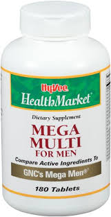 Hy-Vee HealthMarket Mega <b>Multi for Men</b> Dietary Supplement Tablets