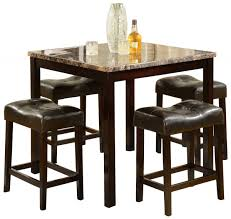 Square Dining Room Table Sets Small Square Dining Table With Marble Top For Small Space Square