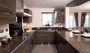 small u shaped kitchen design: image of lovely brown shaped kitchen designs