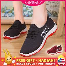 READY STOCK  GRIMO Lightning Fashion <b>Sneaker Women Casual</b> ...