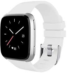 ACUTAS <b>Silicone</b> Replacement <b>Sport</b> Strap Band for Fitbit Versa ...