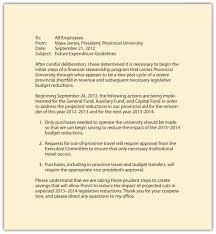 memorandums and letters memo format