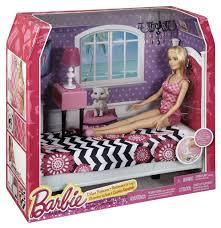 buy barbie doll and bedroom furniture set multi color online at barbie bedroom furniture