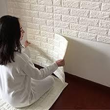 Buy My Home European 3D Wall <b>Stickers</b> Wall Brick <b>Pattern</b> Self ...
