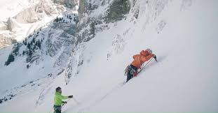 Bosch Global - <b>Climbing</b> the Beta <b>Block</b> Super icefall using Bosch ...