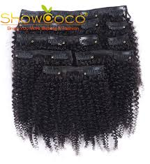 Hot Discount #a6f3 - Showcoco Mongolian <b>Kinky</b> Curly Hair 8pcs ...