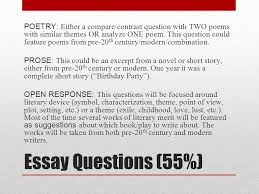 ap english literature and composition national exam  ppt download