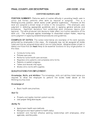 nursing assistant description resume cna duties for home health cover letter nursing assistant description resume cna duties for home health aide job resumeduties and responsibilities