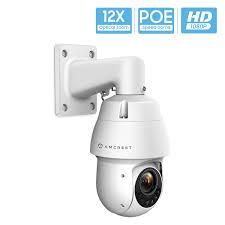 Amcrest <b>Outdoor PTZ POE Camera</b>, Pan/Tilt/ 12x Optical Zoom ...