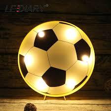 ZMISHIBO <b>3D</b> 1.5W Colorful <b>Football</b> Soccer <b>Night Lights</b> Boy ...