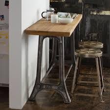 three piece dining set: wildon home ar teak and metal  piece dining table set