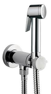 <b>Гигиенический душ Bossini Paloma</b> Flat Mixer Set E37011.030, хром