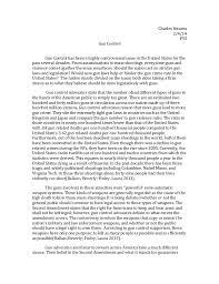 gun control debate essay argumentative essay on gun control first draft of argument analysis essay gun control yes or