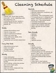 printable cleaning calendar and checklist the housewife modern 2 printables cleaning checklist and schedule everything from weekly to annual tasks